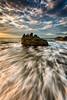 Forrie Flow I (AegirPhotography) Tags: ocean seascape beach sunrise landscape dawn nikon rocks waves australia lee nikkor filters d800 1635mm forresters
