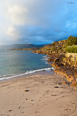 (Marco Tesouro) Tags: sea beach landscape mar nikon rocks playa paisaje galicia rocas d40 marcotesouro