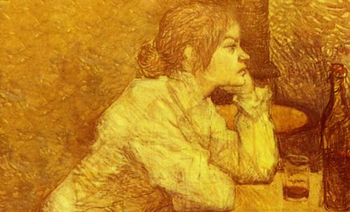 "Las Madeleines escuchando la soleada soledad, descripciones de Henri de Toulouse Lautrec (1889) y Pablo Picasso (1904). • <a style=""font-size:0.8em;"" href=""http://www.flickr.com/photos/30735181@N00/8805132833/"" target=""_blank"">View on Flickr</a>"