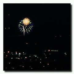 #Fireworks... #MemorialDay #T2i #LoudonTn (his 2.0) Tags: square squareformat normal iphoneography instagramapp uploaded:by=instagram