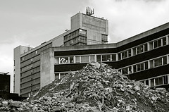 5 The Moor (RumRunner72) Tags: city sheffield demolition moor rubble