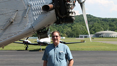 Me and the Airplane (blazer8696) Tags: usa ford metal airplane tin zoo airport unitedstates connecticut air ct goose kalamazoo division danbury stout 1929 58 ecw trimotor 5at 2013 dxr kdxr mirybrook t2013 n4819