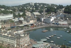 Torquay Strand, From the Big Wheel, Torquay (aecregent) Tags: