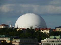 Ericsson Globe (skumroffe) Tags: sweden stockholm arena sphere globen sfr ericssonglobe