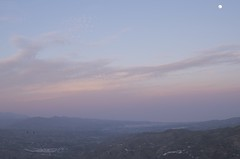 Comares in the evening