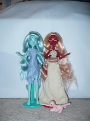 Nerina and Adena (Selfsecret) Tags: adena nerina genasi monsterhighcustoms