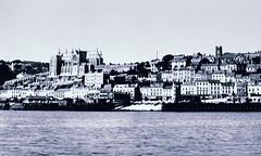 Queenstown (Cobh) (emptyseas) Tags: old ireland sea bw irish white black saint st century republic cathedral cork victorian eire scanned queenstown negatives cobh 20th 19th cathdral colemans emptyseas