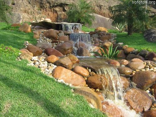 Cachoeira artificial