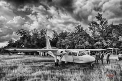 Pilote de brousse (Yasur.sur.Flickr) Tags: airplane airport pacific air avion airfield piste vanuatu atterrissage aéroport pacifique ambrym