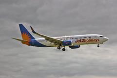 G-GDFD Boeing 737-8K5 Jet2.com MAN 10-08-13 (PlanecrazyUK) Tags: man manchester jet2 egcc boeing7378k5 ggdfd