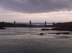 fishing view (Bill Flake) Tags: wales fishing veiw anglesey northwales menaistraits britanniabridge