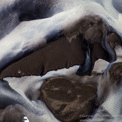 20120801-_MG_0785-Edit (Gunnar Orn Arnason) Tags: summer abstract nature water landscape iceland sand day air glaciers birdseyeview overview