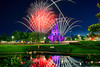 Cinderella Castle's Stars & Fireworks (TheTimeTheSpace) Tags: colors night reflections stars nikon fireworks disney disneyworld wishes wdw waltdisneyworld hdr magickingdom d800 cinderellacastle matthewcooper
