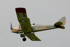 de Havilland Queen Bee (GJC1) Tags: tigermoth dehavilland mothclub gjc1 geoffcollins woburn2013