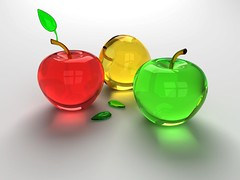 Glass-Apples-Fruit-Wallpaper (vinod_pednekar) Tags: