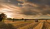 September Sky (Kev Palmer) Tags: uk light sunset england sky nikon skies sundown farm farming harvest shade hay staffordshire benbo swynnerton leefilters nikkor2470f28 benbotripod leendgrad threeshiresphotographers d800e nikond800e