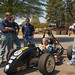 "Barker straps into the Formula SAE car • <a style=""font-size:0.8em;"" href=""http://www.flickr.com/photos/49650603@N07/9786815555/"" target=""_blank"">View on Flickr</a>"