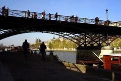 Bridge scene in Paris, France (JVLam2012) Tags: travel seine river 28mm elmarit leicam8