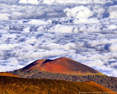 Red Cinder Cone In the Clouds on Mauna Kea (lhg_11, 2million views. Thank you!) Tags: vacation mountain nature clouds island volcano hawaii cone bigisland geology ironoxide maunakea 1000views cindercone oxidization hawaiianislands cloudlayer dormantvolcano 100comments