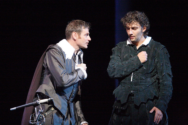 Simon Keenlyside and Jonas Kaufmann in Don Carlo © Catherine Ashmore, 2009