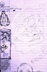 indoor landscape (MoistAlabaster) Tags: cloudy dude doodle daydream thenewschool gfunk