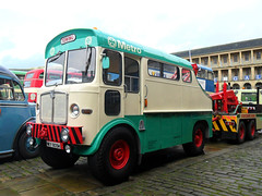 West Yorkshire PTE - NKY 805H - Resplendent recent repaint (Peter-Smith) Tags: nocturnal rally halifax recoveryvehicle