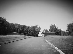 Today (2013):  Caracho Weg main road into Buchenwald Concentration Camp (mainmanwalkin) Tags: germany buchenwald weimar wwii worldwarii concentrationcamp buchenwaldconcentrationcamp