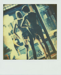 Agent Provocateur - NYC (Fabrice Muller Photography) Tags: usa newyork analog vintage landscape polaroid photography fabrice expired muller instantphotography px70 theimpossibleproject instantlab fabricemuller fabricemullerphotography