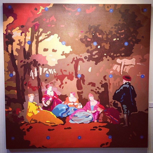 """""""Volver a la Naturaleza"""" • """"El Diálogo, el Pastiche y la Memoria"""" #muestra individual de Ramiro Pareja Herrera #arte #arteenlima #art #artinlima #artist #artista #pintura #painting"""