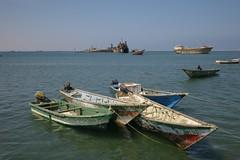 Berbera - port city (g@schei) Tags: africa travel port boat somalia somaliland hornofafrica berbera leicam8