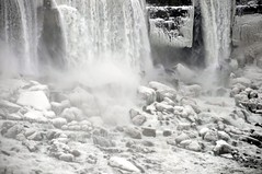 Niagara Fall in Winter (khoosh) Tags: winter snow ontario canada ice niagarafalls frozen moments khashayar