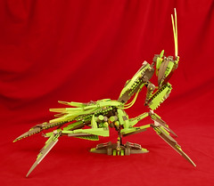 Mantis Mech (PlasticPatriot) Tags: mantis insect lego praying moc