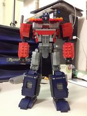Kre-o Optimus Prime my2.0v (Riddik) Tags: prime o transformers orion g1 optimus pax custom build rebuild kre kreo