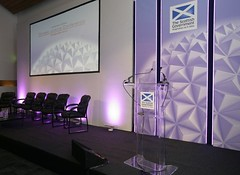 stage set