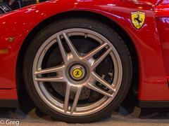 Ferrari Enzo (Gregouill) Tags: ferrari voiture enzo roue fvrier 2014 rtromobile 201402