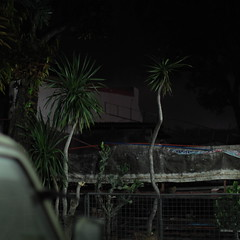 IMG_9578 (RV Henretty-Jornales) Tags: life street trees cactus building tree glass metal night canon fence square concrete still asia darkness philippines naturallight toyota tropical ash filipino dust fx pinoy tarp philippine tamaraw
