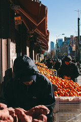 Chinatown Fruitmarket (WAFClough) Tags: winter toronto ontario canada fruits fruit chinatown market streetphotography oranges  spadina   outdoormarket    fruitman vsco vscofilter