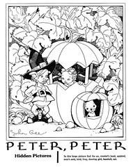 peter, peter (Al Q) Tags: game john children pumpkin picture highlights puzzle hidden peter gee find eater