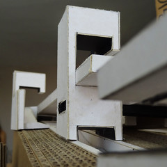 Espacio Habitable (Boris Forero) Tags: white black blanco architecture ecuador arquitectura model space negro guayaquil maqueta espacio uees