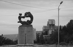 There is no them and us at all (Andrew 62) Tags: sculpture monument statue georgia peace prayer conflict resolution tribute tbilisi struggle diplomacy postsoviet postcommunist