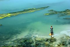 Munshiganj, Chuadanga (বালিকা) Tags: blue people texture water rural canon river landscape village lifestyle pollution land dailylife bangladesh chuadanga munshiganj
