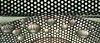 art deco-dots (margeois) Tags: blackandwhite abstract reflection cd polkadots refraction dots cdart geometrics tuesvases