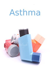 Asthma inhalers isolated (Iryna Melnyk) Tags: blue white green healthy holding air text breath spray patient plastic pump equipment medical pharmacy help health pollution chemistry drug sample medicine therapy care aerosol healthcare prescription isolated assistance recovery chronic breathing allergy chemical medication meds coughing illness pushing treatment asthma steroids inhaler nebulizer respiratory bronchitis inhaling asthmatic salbutamol bronchial copyspase