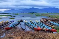 Jejeran Sampan di Rawa Pening | Ambarawa
