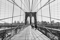 NYC-18 (Adam_12) Tags: blackandwhite newyork manhattan brooklynbridge canon50d