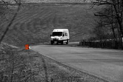 Checkpoint (HOARYHEAD) Tags: wisconsin rally fedex checkpoint fedextruck nikond700 nikon28300mm
