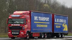 NL - G. de Jong DAF XF 105 SC (BonsaiTruck) Tags: sc camion trucks 105 jong daf lorries lkw xf
