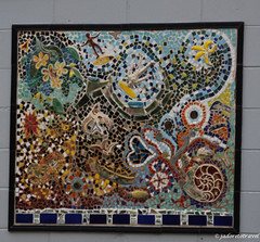 Scotts Head mosaic (J'Adoretotravel) Tags: mosaics beachart beachside northernbeaches scottshead seashellart taylorbeach jadoretotravel