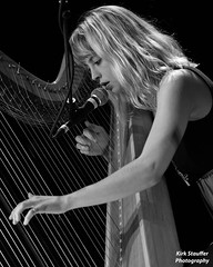 Mikaela Davis @ Tractor Tavern (Kirk Stauffer) Tags: show lighting portrait bw musician music woman usa white black cute girl beautiful smile smiling lady female angel hair lights us photo amazing concert hands nikon women perfect long pretty tour singing sweet song live stage gorgeous gig fingers great young band adorable pop event wash sing singer blonde indie attractive stunning vocalist wa classical strings ballard tall perform lovely harp venue darling vocals kirk petite stauffer glamorous lovable d4 kirkstauffer
