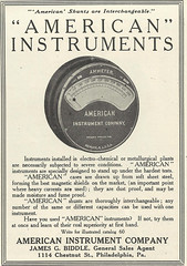 American Instrument Company (Kitmondo.com) Tags: old colour history industry work vintage magazine advertising photo industrial factory technology tech working machine advertisement equipment business company machinery american advert labour historical kit oldequipment publication metalworking oldadvert oldmagazine oldwriting vintageequipment oldadvertisment oldliterature vintagepublication oldpublication machinerypublication